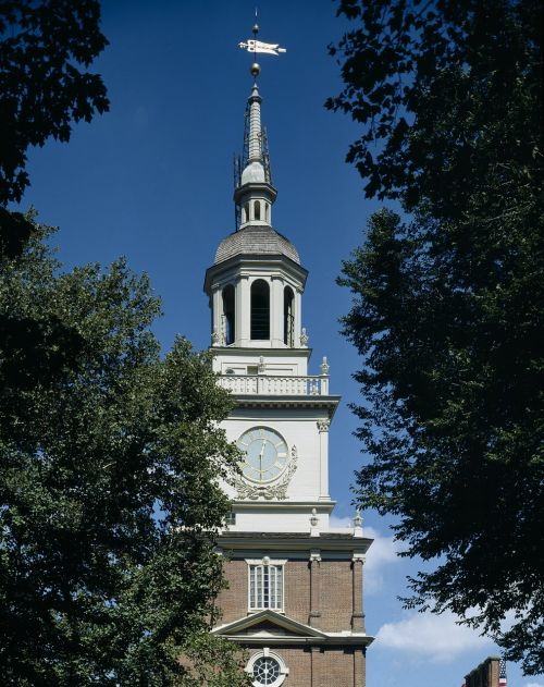 independence hall steeple tower