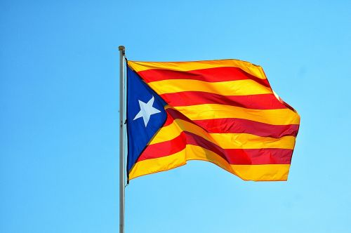 independence of catalonia flag spain