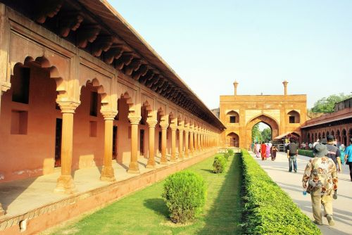 india agra allee