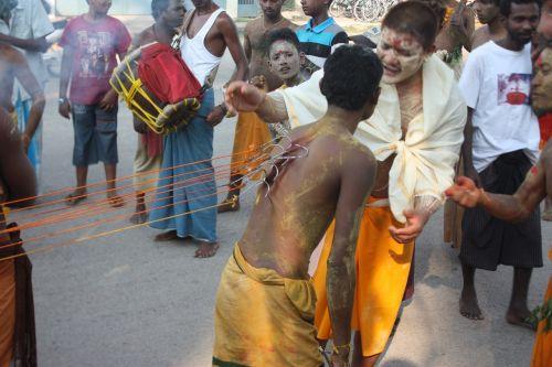 india ritual piercing