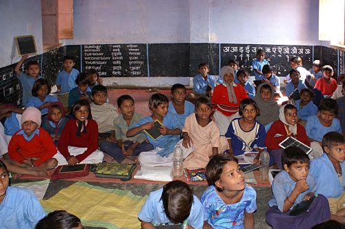 Indija,mokykla,vaikai