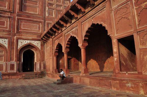 india delhi taj mahal