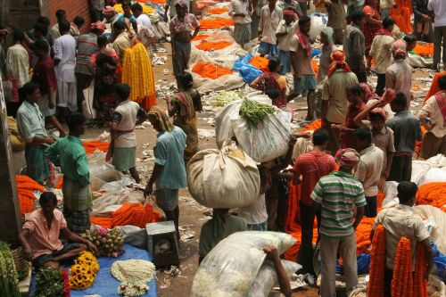 india kolkata markets