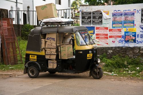 india kerala traffic