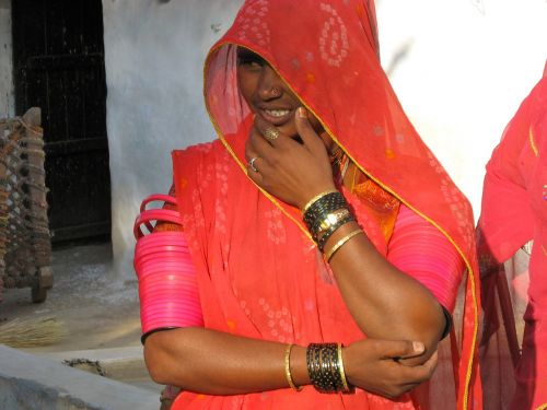 Indija,moteris,asija