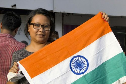 india independence tricolor