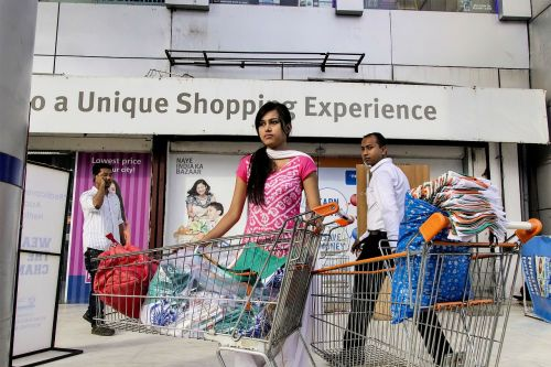 india shopping caddy