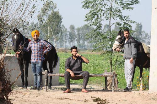 india countryside farm