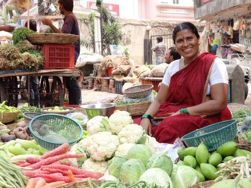 india market women
