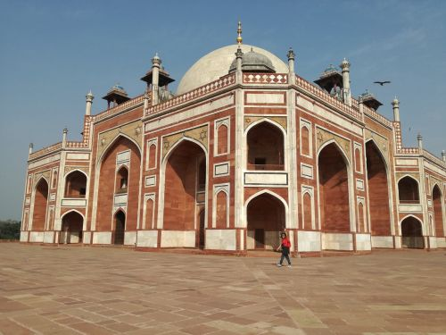 india new delhi humayun's tomb