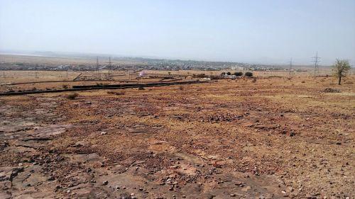 india desert barren land