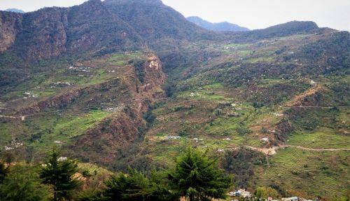 india himalayan mountains highland
