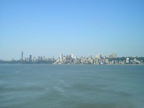 Indija,Mumbajus,bombėjaus,miestas,panorama