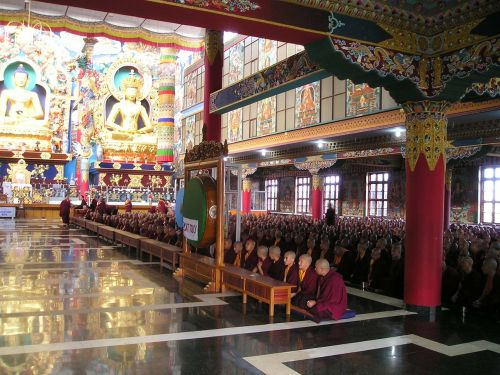 india tibetan temple