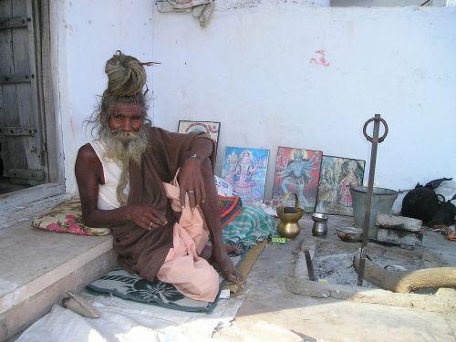 india holy human