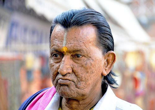 india  man  people
