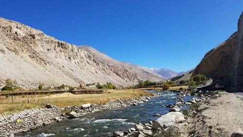 india  ladakh  sky