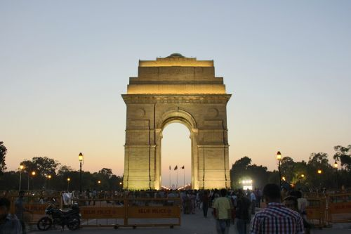 india india gate new delhi