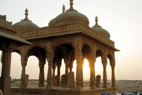 india rajastan sunset