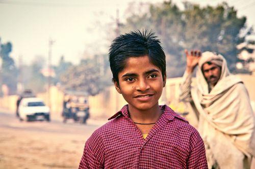 indian boy child