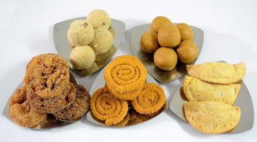 indian diwali food