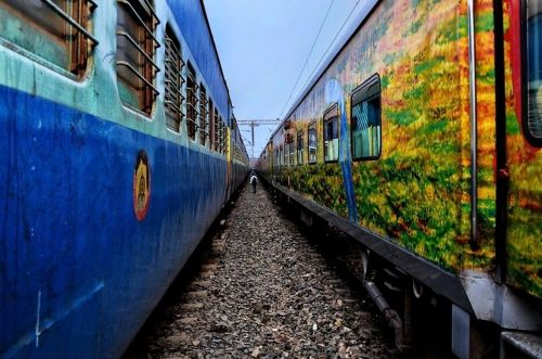 indian railway train