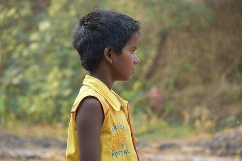indian  kid  portrait