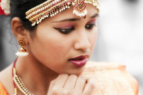 indian woman dancer