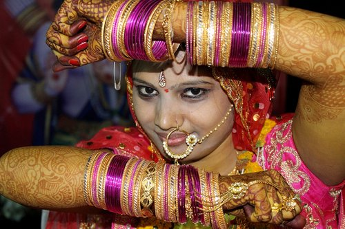 indian bride  bride make up  bride