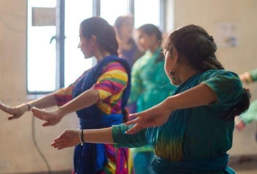 indian dance rhythm grace