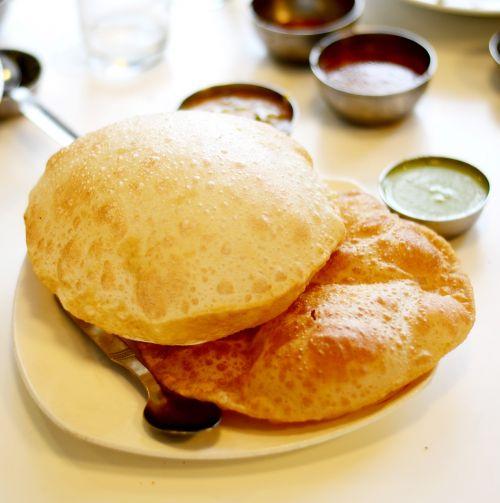 indian food puri food