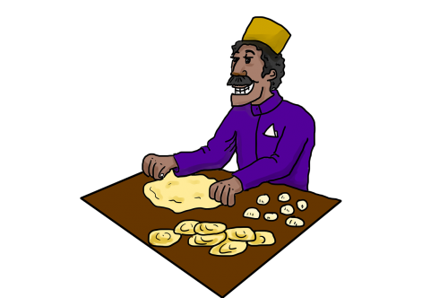 indian food indian roti