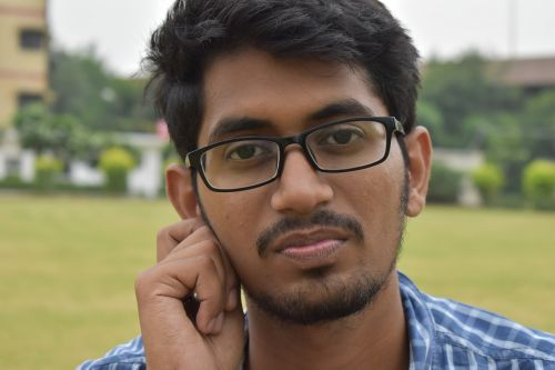 indian guy handsome sorry look