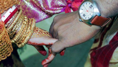 indian wedding beautifully decorated
