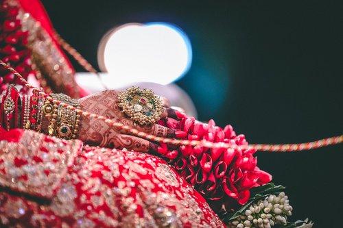 indian wedding  bride  marriage