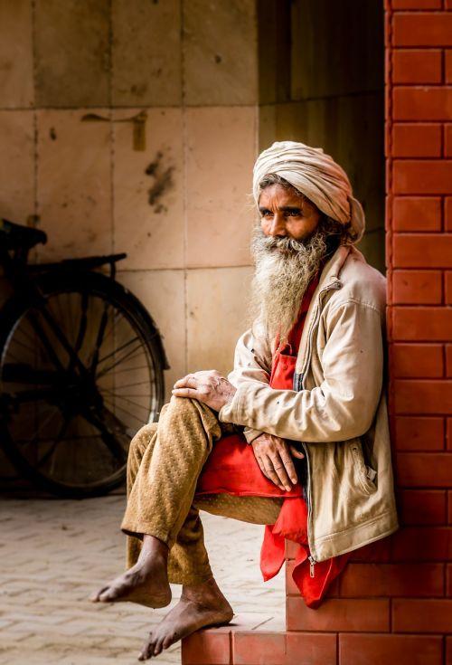 indians portrait man