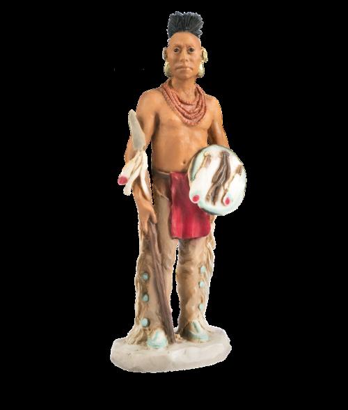 indians human beads