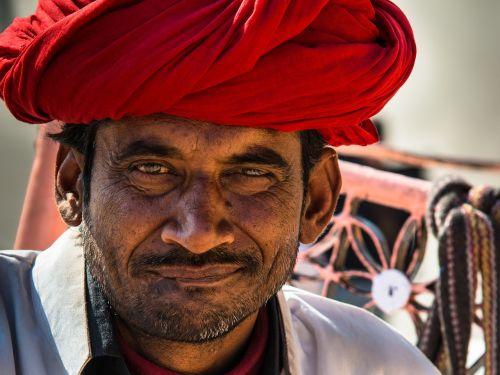 indians turban portrait