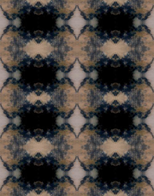 Indigo Patterned Background