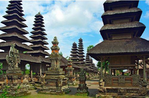 indonesia bali pagoda