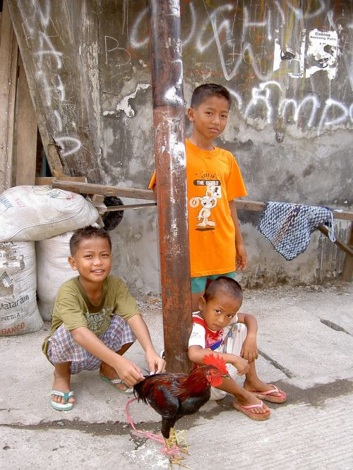 indonesia children slum