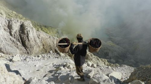 indonesia java volcano