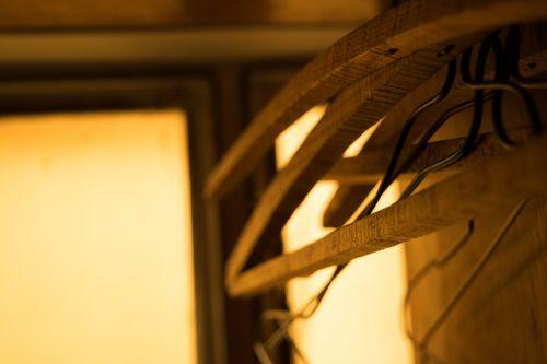 indoor wooden hangers