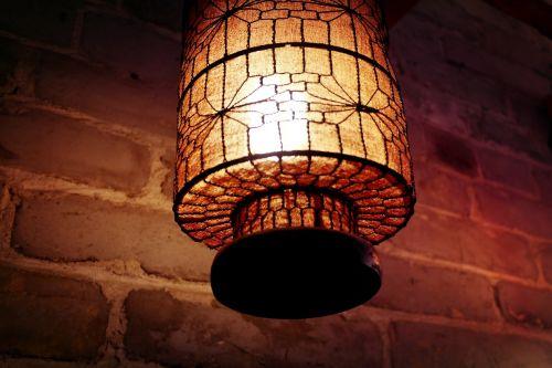 indoor china wind lamp