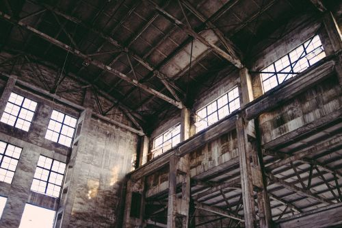 industrial decadence old factory