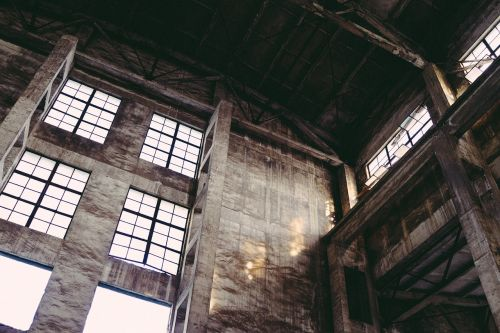 industrial old factory decadence