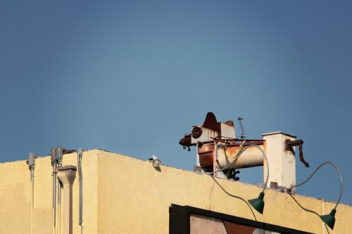 industrial urban rooftop