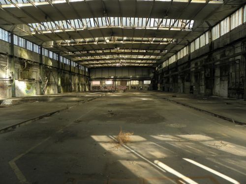 industrial hall factory building hall