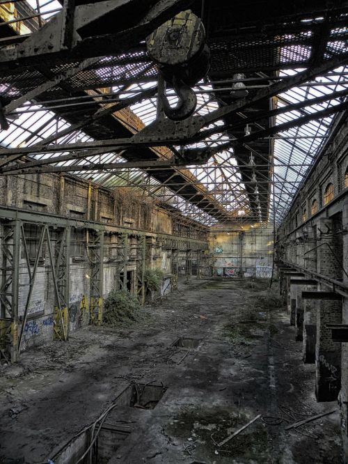 industrial hall factory building factory
