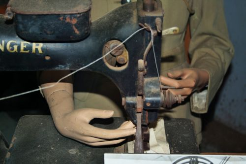Industrial Machine Sewing Parachute